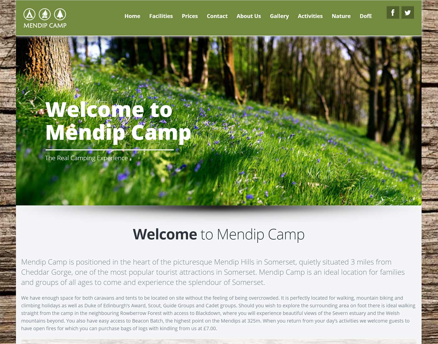Mendip Camp - Case Study